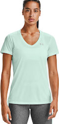Under Armour V-Neck Twist Turqoise