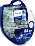 Philips H4 Racing Vision GT200 12V 55W 2τμχ