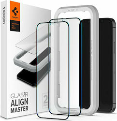 Spigen GLAS.tR Full Face Tempered Glass (iPhone 12 Pro Max)