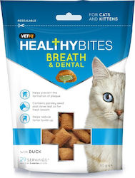 VetIQ Healthy Bites Breath & Dental με Πάπια 65gr