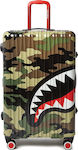 Sprayground Black Molded Shark Mouth CL63 Large Camo